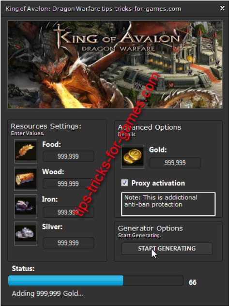 King-of-Avlon-Dragon-Warfare-Cheat